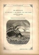"""Partition """"Les Chansons de Béranger"""" N°9 Lire détails sur la photo.8 pages.RARE+"""
