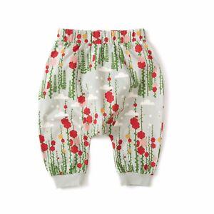 Little Green Radicals Secret Garden Jelly Bean Joggers trousers 0 3 6 9 12