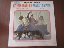 KHACHATURIAN Gayne Ballet/Masquerade Paris Opera Orchestra LP Forum Circle GL301