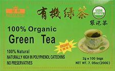 100% Organic Green Tea (100 tea bags), 100% Natural, USDA CERTIFIED - Royal King