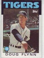 1986 Topps Baseball Detroit Tigers Team Set