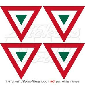 """MEXICO Mexican AirForce Aircraft Roundel 50mm (2"""") Stickers Decals x4"""