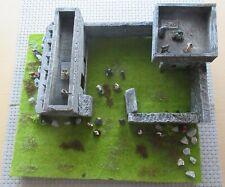 """gebaut/built """"  Diorama  viele Epochen ! """" bemalt/painted.Passend für 1/72"""