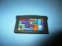 Tetris Worlds Nintendo Game Boy Advance SP Gameboy Game