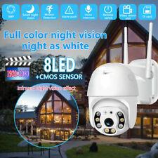 Wireless Outdoor CCTV Camera 1080P WiFi Camera 2-Way Audio NVR Auto MotionDetect