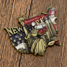 3D Metal Fridge Magnet Sticker Tourist Souvenir Statue of Liberity Handcraft DIY
