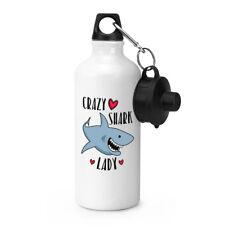 Crazy Shark Lady Sport Getränke Wasserflasche