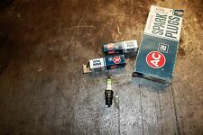 8 New AC GM R46TX  ACNITER  Green Ring Spark Plugs  NOS