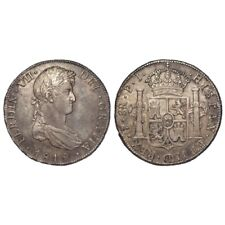More details for spanish bolivia silver 8 reales 1819 pts pi ef - unc usa colonial crown coin