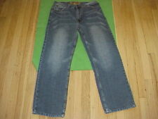 Fusai Jeans Size 32 x 30 Ornate Embroidered Back Pockets - Whiskered Wash NICE!