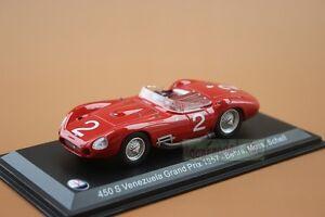 1/43 LEO MODELS MASERATI 450 S Venezuela Grand Prix 1957 Behra Moss Schell #2
