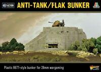 Warlord Games German Anti Tank Flak Bunker 28mm Deutschland Bolt Action WW2