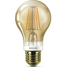 Philips LED Filament Light Bulb Vintage Classic Squirrel Cage GLS Globe B22 E27
