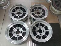 """JDM Hayashi Street 14"""" rims wheels ae86 ta22 datsun long champ ke70 dx ssr  R-86"""