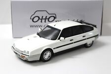 1:18 Otto Citroen CX 2.5 GTi Turbo 2 White New chez Premium-modelcars