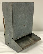 Vintage Galvanized Farmhouse Home Decor No. 88 Sanitary Feeder Nelson Products