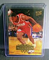1995-96 Willie Burton Fleer Ultra #133 Basketball Card