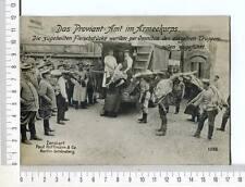 """24660) Austria WWI Grossfoto """" Das Proviant-Amt Im"""