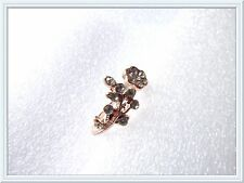 Gorgeous Crystal Flower Ring,Re-sizable,Rhinestones,Gift Idea,Leaves,VERY PRETTY