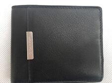 Calvin Klein 100% authentic  leather black wallet