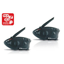 2x 1600m BT Motorcycle Interphone MIDLAND BTNEXT-C Bluetooth Headset Intercom