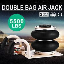 5500lbs Triple Bag Air Jack 2.5 Ton Lift Jack Pneumatic Air Jack 2.5T