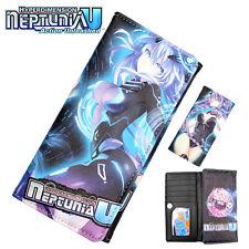 Anime Hyperdimension Neptunia Wallet Purse Layers Holder Long Button Hot Wallets