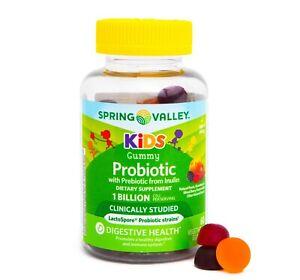 Spring Valley Kids' Probiotic + Prebiotic Vegetarian Gummies, 60 CT..