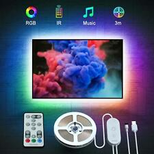LED TV Hintergrundbeleuchtung, Govee 3M USB LED Strip Lichtband mit Fernbedienun