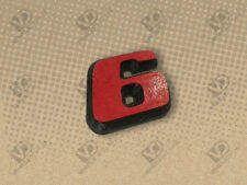 PEUGEOT 306 GTI6 GTI-6 LITTLE RED 6 BADGE EMBLEM 866503 NEW REPRODUCTION