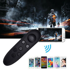 Wireless Bluetooth Gamepad Remote Controller for VR Box Android iOS Phone Black