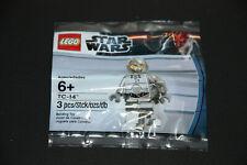 Lego Star Wars Figur Chrome Silver TC-14 5000063