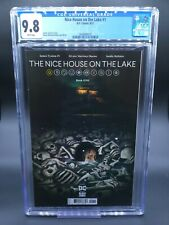 Nice House on the Lake #1 CGC 9.8 1st First Print - Cover A - James Tynion IV!