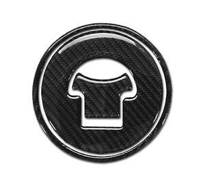 Real Carbon Fiber Fuel Gas Cap Cover Protector Fits Honda CBR250R 2010-13