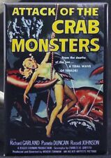 Attack of the Crab Monsters Poster - Fridge / Locker Magnet.  Roger Corman GGA