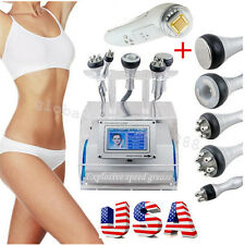 USA 5 in 1 Cavitation Vacuum Bipolar RF Laser Slimming Fat Wrinkle Remvoal+Gift