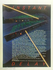 retro magazine advert 1984 ROLAND SDE DELAY