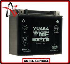 BATTERIA YUASA YTX20L-BS con acido KAWASAKI JT 1500 B,C,250X,Ultra LX 1500 07-10