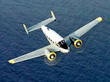 1/10 Scale Beechcraft C-45 Twin Plans, Templates, Instructions 54ws