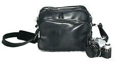 Black Shoulder SLR Camera Bag (fits Canon Nikon)