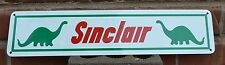 Sinclair Sign Service Gas Station DINO Vintage Pumpsign