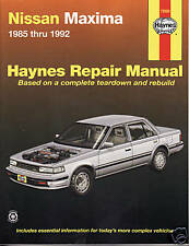 1985-1992 Haynes Nissan Maxima Repair Manual