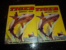 TIGER Comic Annual - Year 1969 - UK Annual ( Price Tab Removed )