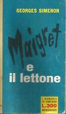 (Georges Simenon) Maigret e il lettone 1962 i romanzi n.181