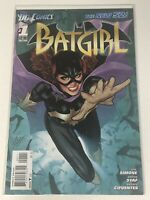 BATGIRL #1 THE NEW 52 DC COMIC BOOK RETURN OF BARBARA GORDON SUPER HERO