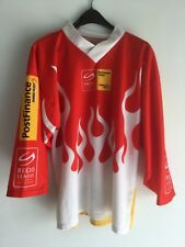 MAGLIA OCHSNER POSTFINANCE SWISS SWITZERLAND HOCKEY TRIKOT SHIRT JERSEY SIZE S