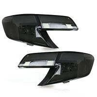 Customized SMOKED LED Tail Lights Assembly fit for 2012-2014 Toyota Camry