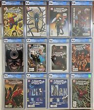 All Spider-Man Variants CGC Lot of 12 9.2 / 9.6 / 9.8 NM #600 #651 #1 #658 #659