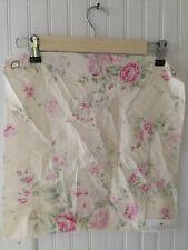 Shabby Chic Wildflower Ivory Fabric Sample 16x16 Rachel Ashwell Floral Cotton