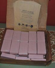 2~Alaffia Triple Milled Shea Butter bar Soap, Wild Strawberry 5 oz Unwrapped